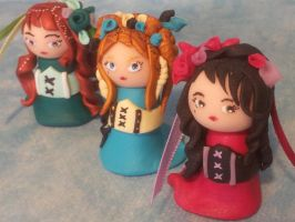 Collection Mini Burlesques by Lillycherry-Creation