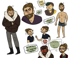 Cole Lotta Doodles by exdog