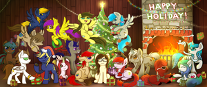 Happy Holidays from the LoE Mods by wingedwolf94