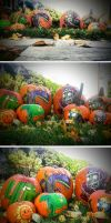 Halloween Pumpkins Plants vs Zombies ver by MyCKs