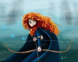 Merida the Brave by Sugarsop