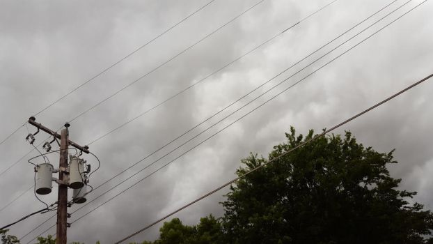 Power Lines Before The Rain by FilAm4494