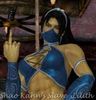 Rude Kitana Request by ShaoKahnsSlaveLilith