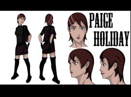 Holix dreams in the works PAIGE HOLIDAY by Lizeth-Norma