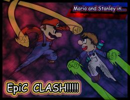 STANLEY AND MARIO IN by Skatoonist
