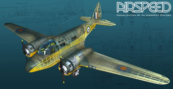 Airspeed Oxford by stretch186