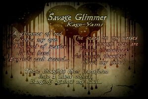 Poetry Design: Save Glimmer by LMW-Creations