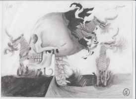 Skull and Nightmares from HoMM 5 by H-Maksim