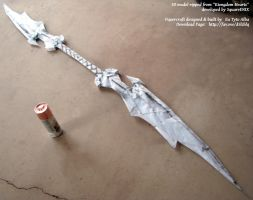 Ansem's World of Chaos Staff Papercraft by EuTytoAlba