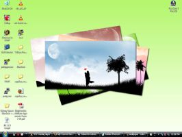 My Desktop - Infected Loser by sabriena