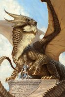 Dragon Rider by alexstoneart