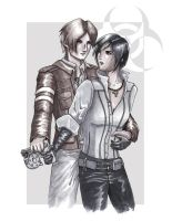 RE6 - Stay with Me, Ada by Pooky-di-Bear