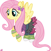 Fluttershy Pony - Dance Magic by LinaCloud23