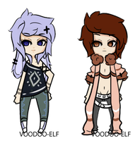 -Lazy adopts- Taken- by Voodoo-Elf