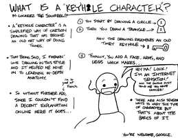 What is a Keyhole Character? by ChibiBatGraphics