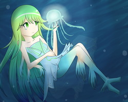 Girl of the Jellyfish by NekoSasukeGirl