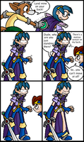 Fun with Land Mines and Marth by Hail-NekoYasha