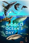WORLD OCEANS DAY POSTAR by memuco