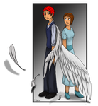 Angels and Demons - Thomas and Lillian by mimmime