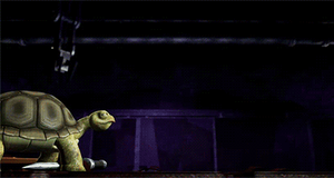 (GIF) Showdown: Raph n Spike by LumosLightning