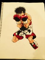 Ippo Makunochi from Hajime no Ippo by mic1225