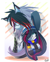 Together, Forever::.. LexyNZenax by PauuhAnthoTheCat