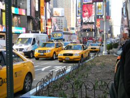 Taxis in New York by hcisme123
