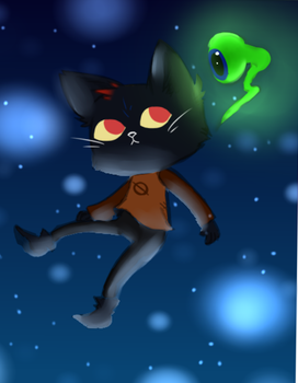 Night In The Woods by MythicalWolfAngel