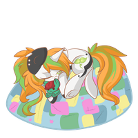 Trying to find a moment of rest.. by GlitterBell