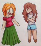 Outfit swap by Chibi-redhead13