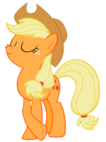 Applejack is Best Pony by TomFraggle