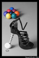 Heels Egg and Pool Balls by JonnyBalls