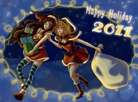 APH Hun+Bel Merry Christmas by nAndroid19