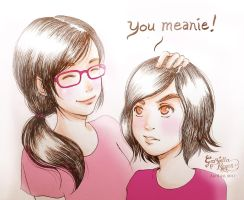 You Meanie by zienta