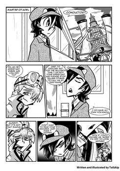 Engine 999 Webcomic Series - CH5PG8 by Tailzkip