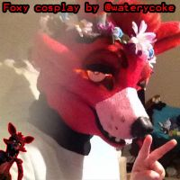 Bad Picture of Foxy/FNAF cosplay/Fursuit by Waterycoke