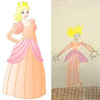 child's drawing gone Disney 48 by Willemijn1991