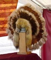 NativeAmericanIndianFeatherHeadDressStockPhoto0260 by annamae22