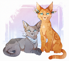 Best Friends by MapleSpyder