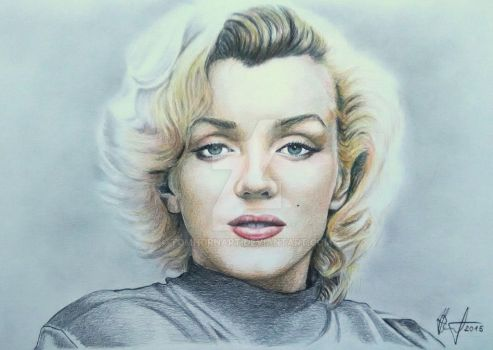 Marilyn Monroe by TomHornArt
