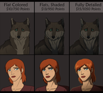 Character Portrait Commissions - CLOSED by WyldeElyn