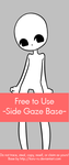 Free To Use Base {Side Gaze} by Koru-ru