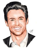Hugh Jackman by theartisfun