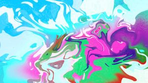 Colour Rush (Psychedlic Rorschach Test) by Syrupmasterz