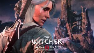 Ciri. *DRAFT* version. (The Witcher 3) by JakeCarver