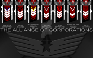 The Alliance of Corporations by Jon-Michael-May