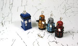 Charms: Dr Who by okapirose