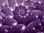Purple Heights Spiral by fraxialmadness3