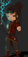 Chibi Amara by twitchglitch