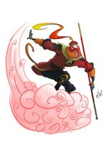 Sun Wukong by bangalore-monkey